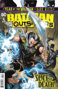 Cover Thumbnail for Batman and the Outsiders (DC, 2019 series) #4