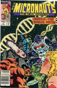 Cover Thumbnail for Micronauts (Marvel, 1984 series) #5 [Canadian]