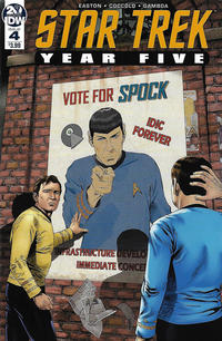 Cover Thumbnail for Star Trek: Year Five (IDW, 2019 series) #4 [Regular Cover]