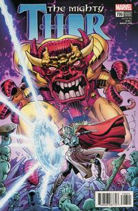 Cover Thumbnail for Mighty Thor (Marvel, 2016 series) #706 [Walter Simonson]