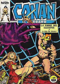 Cover Thumbnail for Conan el Bárbaro (Planeta DeAgostini, 1983 series) #69