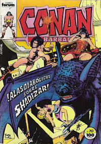 Cover Thumbnail for Conan el Bárbaro (Planeta DeAgostini, 1983 series) #70
