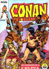 Cover Thumbnail for Conan el Bárbaro (Planeta DeAgostini, 1983 series) #71