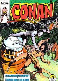 Cover Thumbnail for Conan el Bárbaro (Planeta DeAgostini, 1983 series) #72