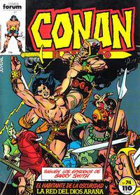 Cover Thumbnail for Conan el Bárbaro (Planeta DeAgostini, 1983 series) #74