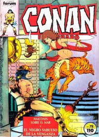 Cover Thumbnail for Conan el Bárbaro (Planeta DeAgostini, 1983 series) #78