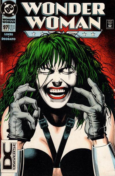 Cover for Wonder Woman (DC, 1987 series) #97 [DC Universe Cornerbox]