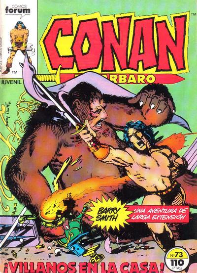 Cover for Conan el Bárbaro (Planeta DeAgostini, 1983 series) #73