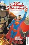 Cover for Batman / Superman (DC, 2019 series) #1 [David Marquez Superman Cover]