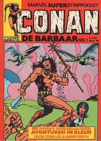 Cover Thumbnail for Conan de barbaar (Oberon, 1979 series) #1