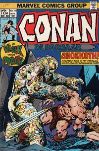 Cover Thumbnail for Conan de barbaar (Oberon, 1981 series) #10
