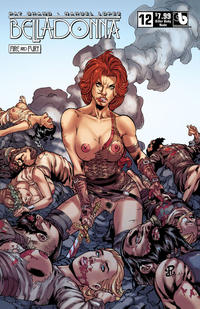 Cover Thumbnail for Belladonna: Fire and Fury (Avatar Press, 2017 series) #12 [Killer Body Nude Variant]