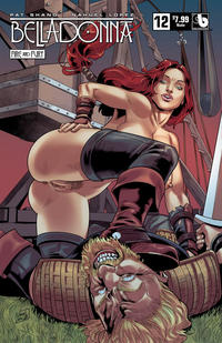 Cover Thumbnail for Belladonna: Fire and Fury (Avatar Press, 2017 series) #12 [Nude Variant]
