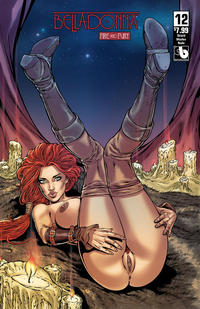 Cover Thumbnail for Belladonna: Fire and Fury (Avatar Press, 2017 series) #12 [Shield Maiden Nude Variant]