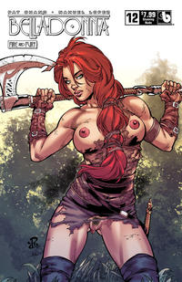Cover Thumbnail for Belladonna: Fire and Fury (Avatar Press, 2017 series) #12 [Stunning Nude Variant]