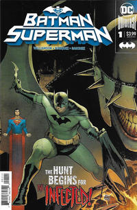 Cover Thumbnail for Batman / Superman (DC, 2019 series) #1 [David Marquez Batman Cover]