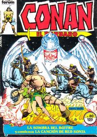 Cover Thumbnail for Conan el Bárbaro (Planeta DeAgostini, 1983 series) #80