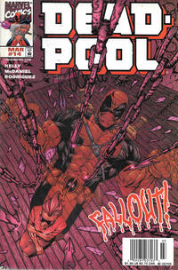 Cover Thumbnail for Deadpool (Marvel, 1997 series) #14 [Newsstand]