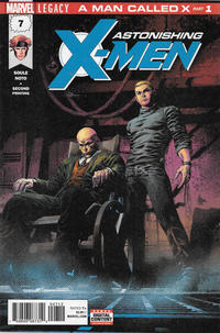 Cover Thumbnail for Astonishing X-Men (Marvel, 2017 series) #7 [Second Printing - Mike Deodato Jr.]