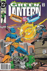 Cover for Green Lantern (DC, 1990 series) #42 [Newsstand]