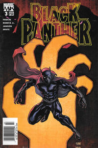 Cover Thumbnail for Black Panther (Marvel, 2005 series) #3 [Newsstand]