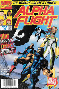 Cover Thumbnail for Alpha Flight (Marvel, 1997 series) #3 [Newsstand]