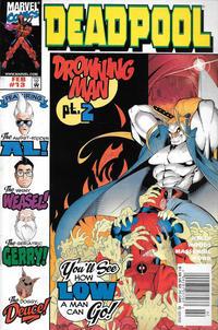 Cover Thumbnail for Deadpool (Marvel, 1997 series) #13 [Newsstand]