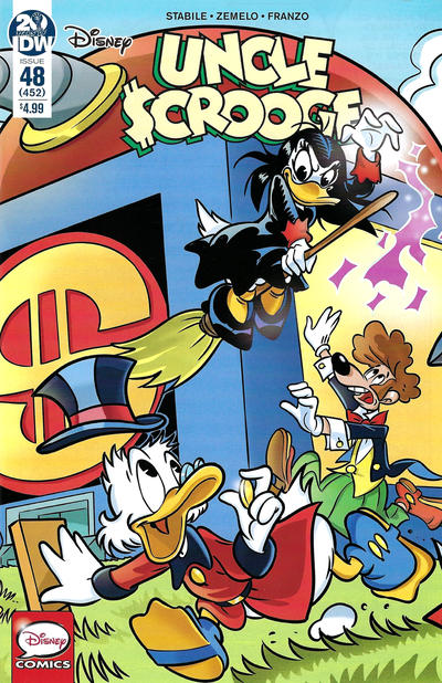 Cover for Uncle Scrooge (IDW, 2015 series) #48 / 452