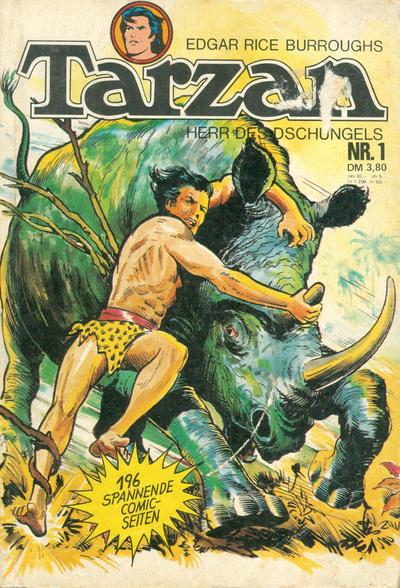Cover for Tarzan (BSV - Williams, 1976 series) #1