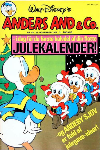 Cover for Anders And & Co. (Egmont, 1949 series) #48/1979