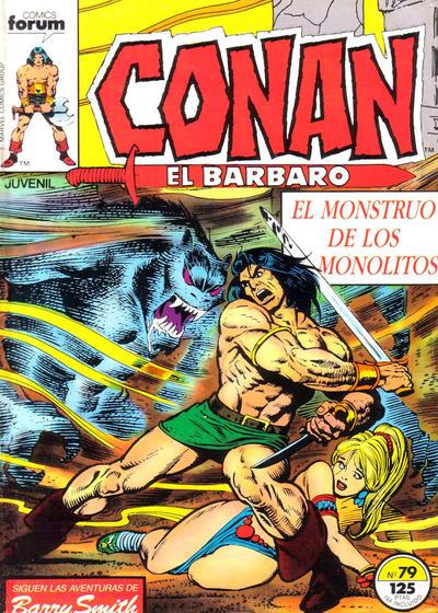 Cover for Conan el Bárbaro (Planeta DeAgostini, 1983 series) #79