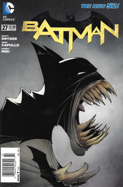 Cover for Batman (DC, 2011 series) #27 [Combo-Pack]