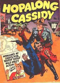 Cover Thumbnail for Hopalong Cassidy (Fawcett, 1943 series) #1