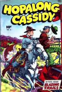 Cover Thumbnail for Hopalong Cassidy (Fawcett, 1946 series) #3