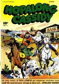 Cover Thumbnail for Hopalong Cassidy (Fawcett, 1946 series) #4