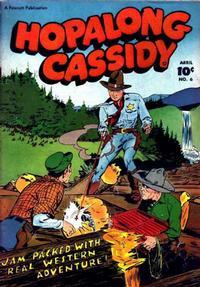 Cover for Hopalong Cassidy (Fawcett, 1946 series) #6