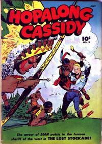 Cover Thumbnail for Hopalong Cassidy (Fawcett, 1946 series) #9