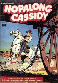 Cover Thumbnail for Hopalong Cassidy (Fawcett, 1946 series) #10