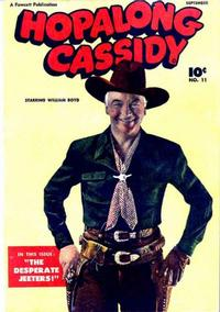 Cover Thumbnail for Hopalong Cassidy (Fawcett, 1946 series) #11