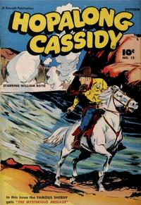 Cover Thumbnail for Hopalong Cassidy (Fawcett, 1946 series) #12