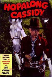 Cover Thumbnail for Hopalong Cassidy (Fawcett, 1946 series) #13
