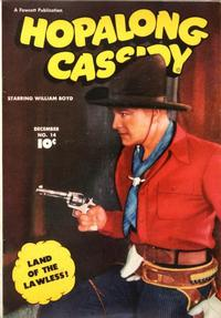 Cover Thumbnail for Hopalong Cassidy (Fawcett, 1946 series) #14