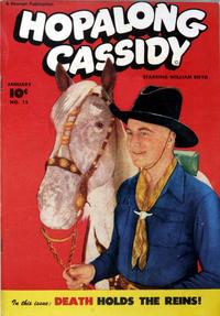 Cover for Hopalong Cassidy (Fawcett, 1946 series) #15