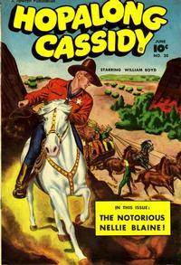 Cover Thumbnail for Hopalong Cassidy (Fawcett, 1946 series) #20