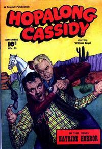 Cover Thumbnail for Hopalong Cassidy (Fawcett, 1946 series) #23
