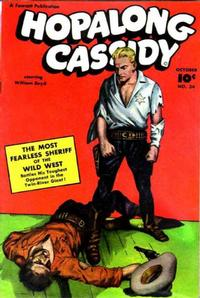 Cover Thumbnail for Hopalong Cassidy (Fawcett, 1946 series) #24