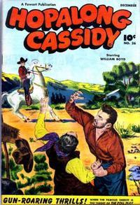 Cover Thumbnail for Hopalong Cassidy (Fawcett, 1946 series) #26