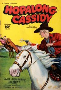 Cover Thumbnail for Hopalong Cassidy (Fawcett, 1946 series) #27