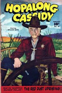 Cover Thumbnail for Hopalong Cassidy (Fawcett, 1946 series) #28