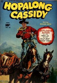 Cover Thumbnail for Hopalong Cassidy (Fawcett, 1946 series) #30